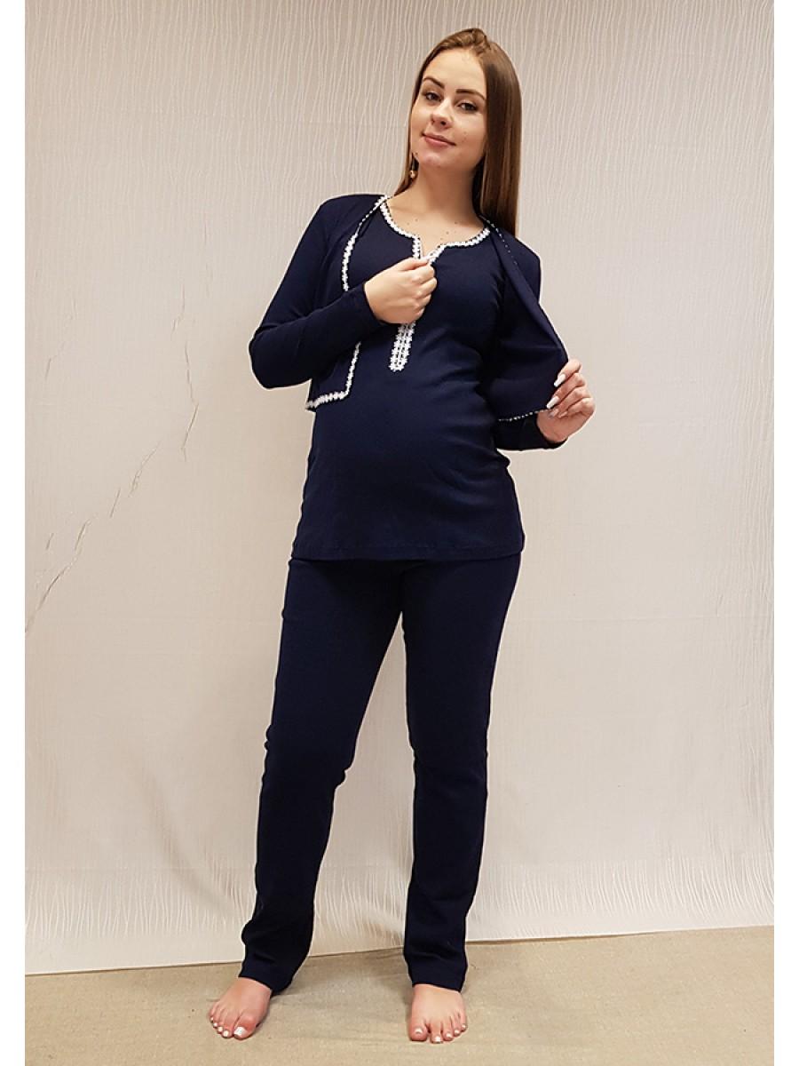 Pijama Bolero Regata com Ziper
